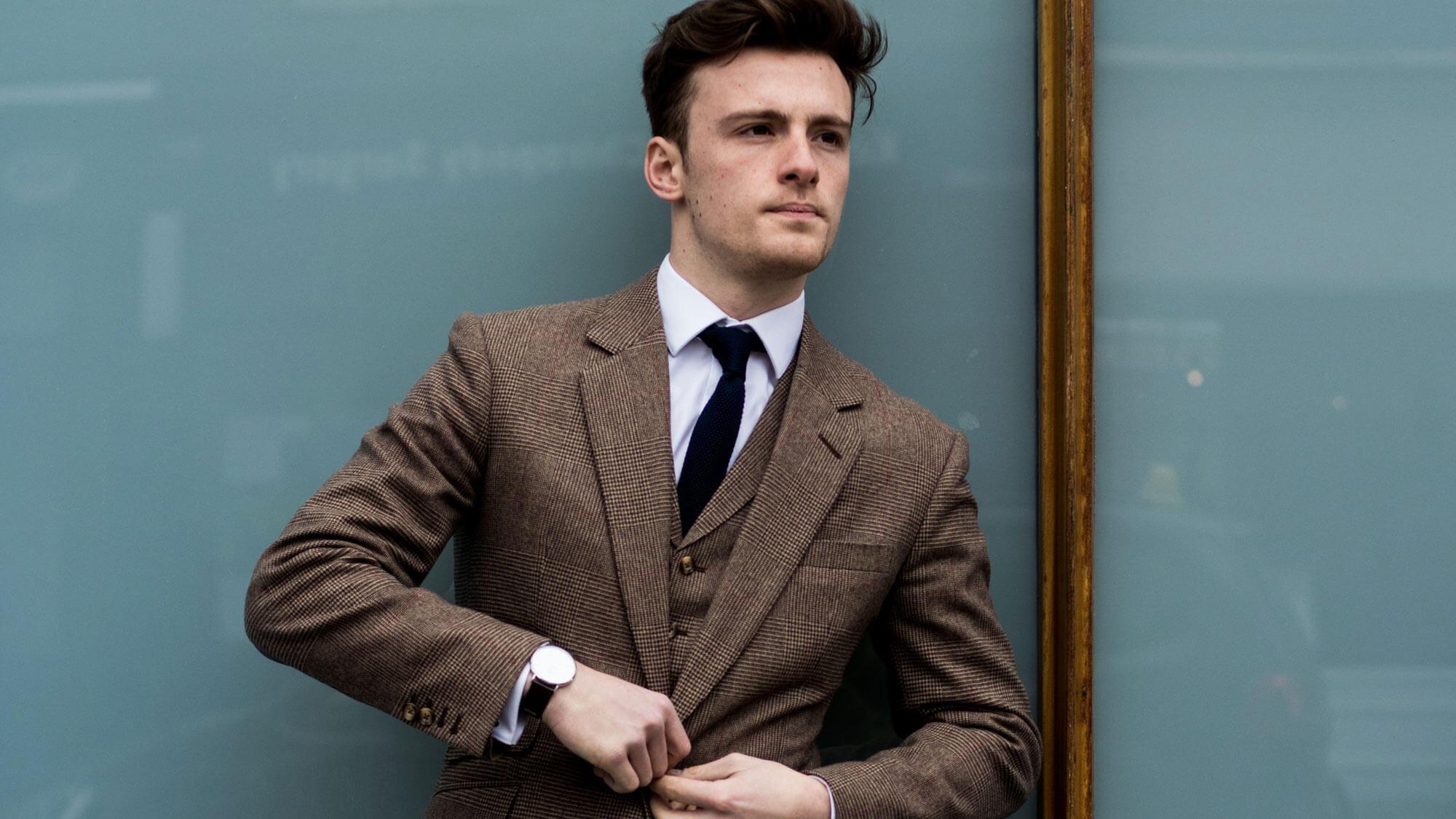 Custom Business Suit