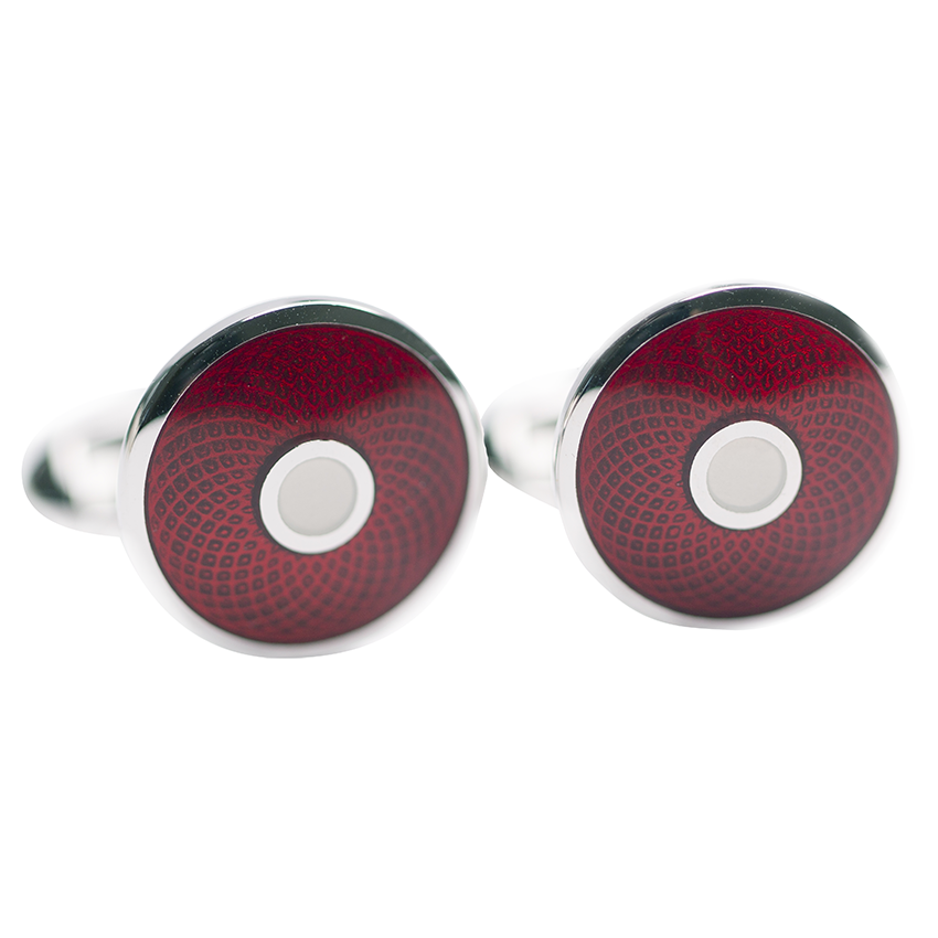guilloche-cufflinks-red