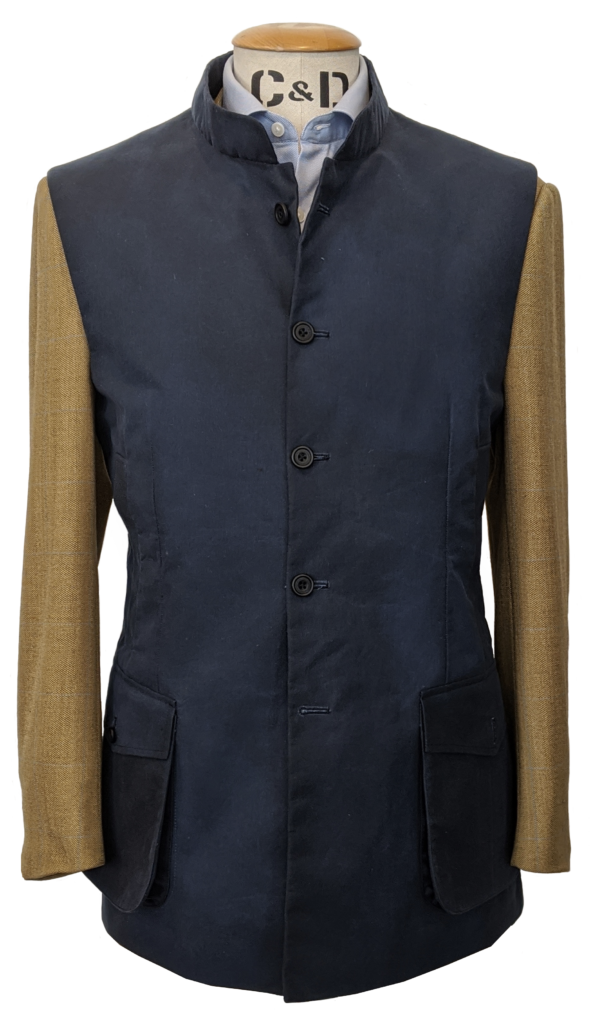 wax-gilet-surface-blue