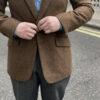 Rust Red Tweed Jacket