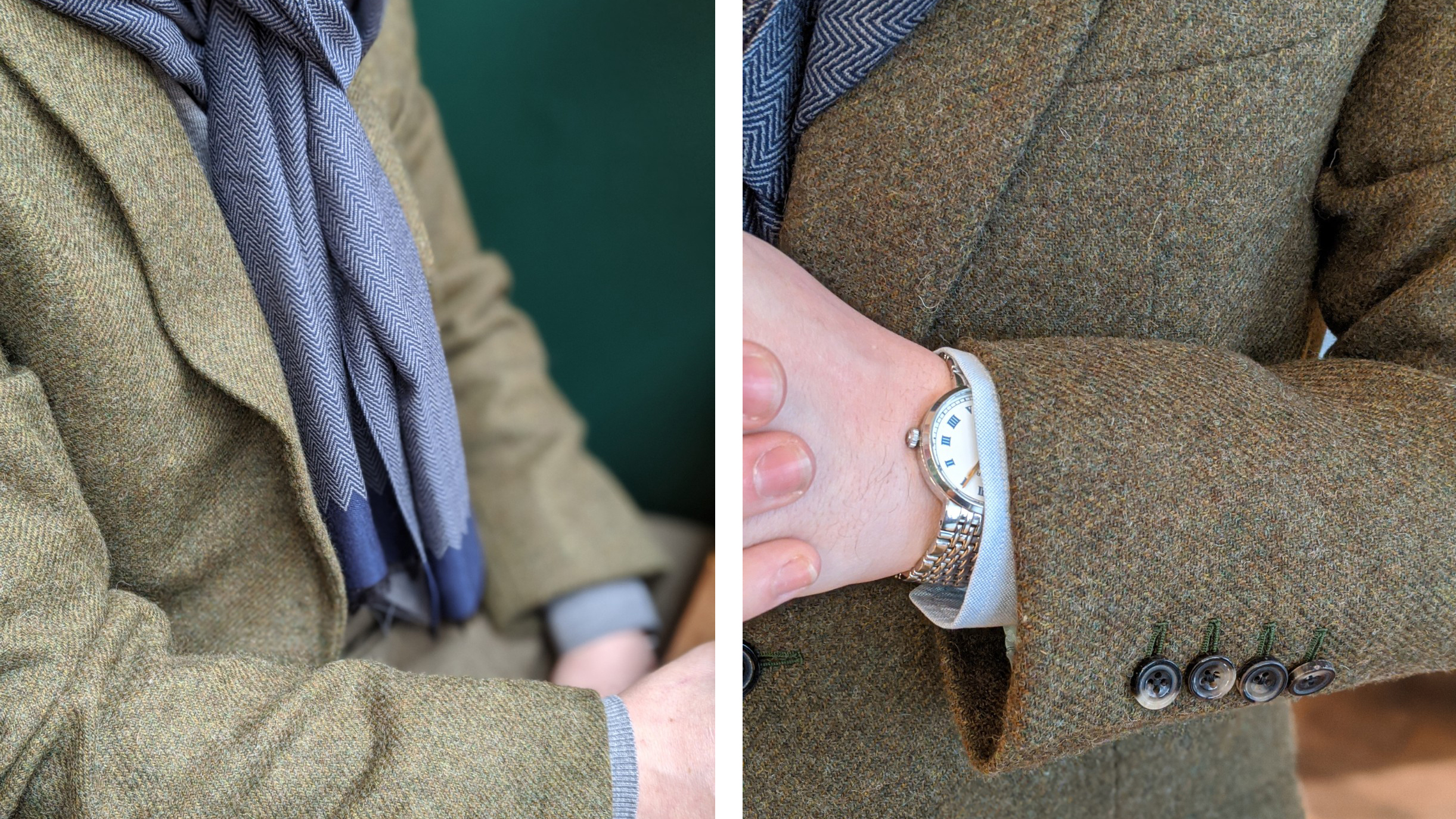 tweed-jacket-hunter-green-details