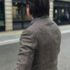 Lambswool Check Jacket