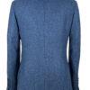 Delt Blue Tweed Jacket Back