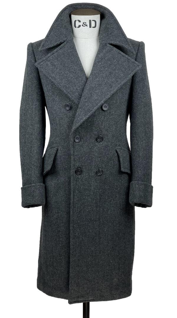Goose Grey Great Coat Front