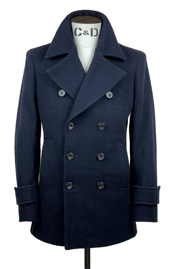 Heritage Twill Pea Coat Front