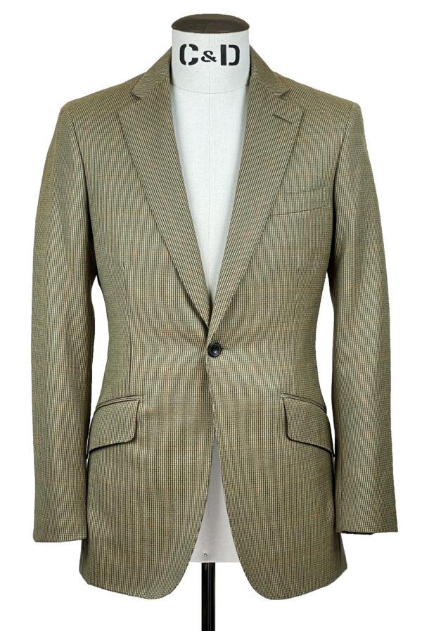 Lightweight Tweed Jacket Front