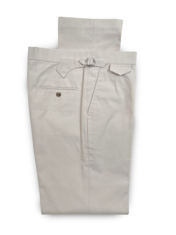 Canvas Trousers – Natural
