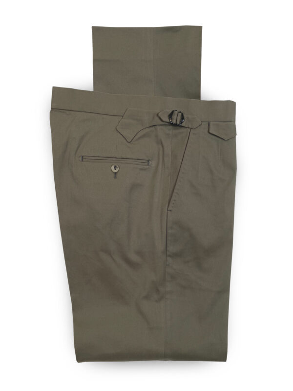 Cotton Mix Trouser – Khaki