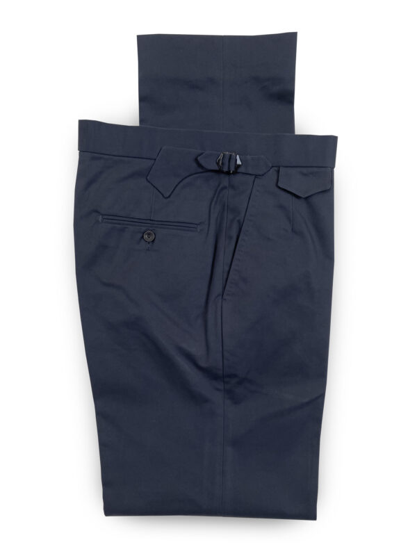 Cotton Trousers – Dark Navy