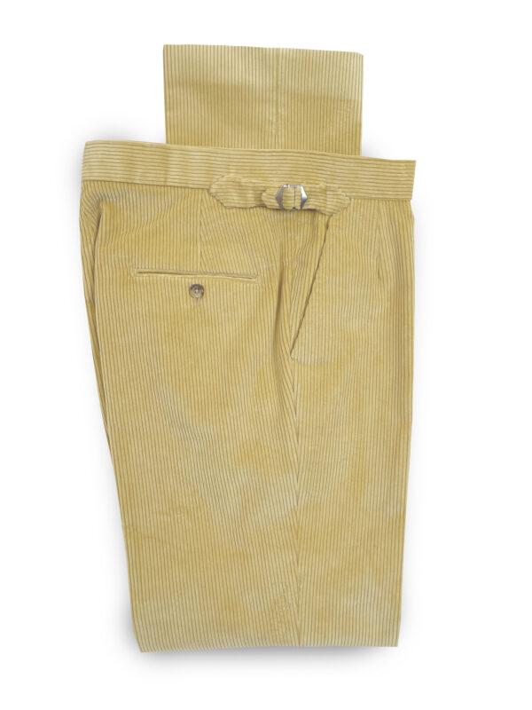 Corduroy Trousers – Cream