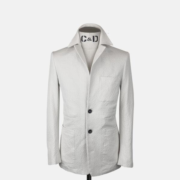 Seersucker Worker Jacket Front