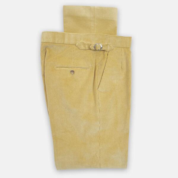 Cream Cord Trouser